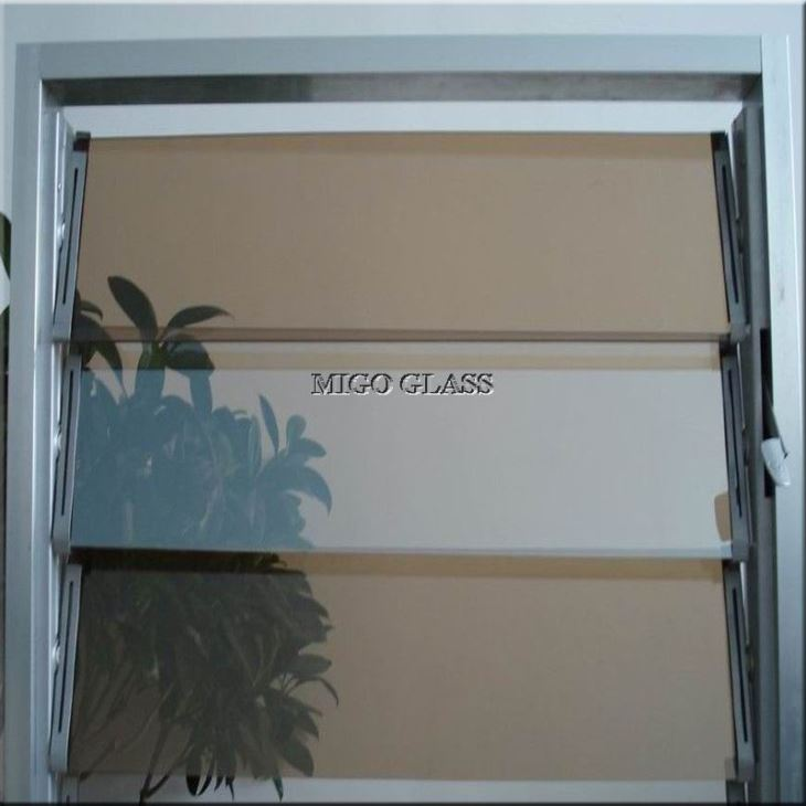 Tinted Louver Glass