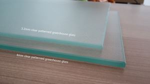 Clear Patterned Greenhouse Glass