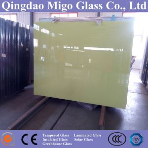 China Manufacturer 1830*2440mm 2-6mm Back Painted Glass