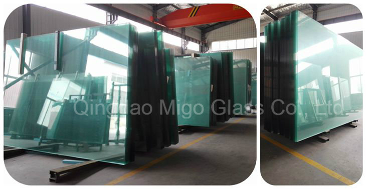 1830*2440mm Clear Annealed Laminated Sheet Glass