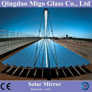 Tower / Linear Fresnel Flat Solar Mirror For CSP Heliostat